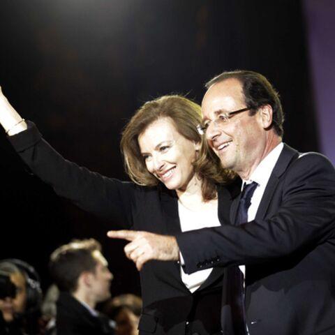 Photos- François Hollande et Valérie Trierweiller,  les amoureux du 6 mai