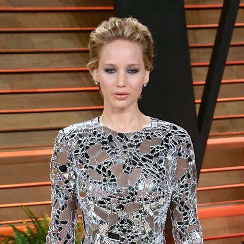 Jennifer Lawrence à Ivry-sur-Seine pour Hunger Games 3
