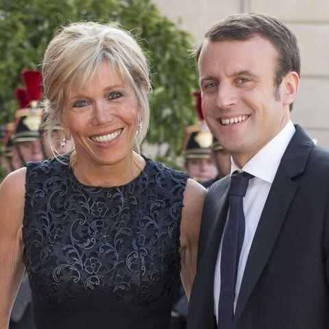 PHOTOS – Emmanuel et Brigitte Macron, leurs premiers pas à l'Elysée en 2015