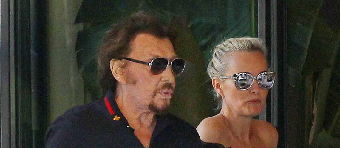 PHOTOS – Johnny Hallyday et sa femme ont voté en famille à Los Angeles