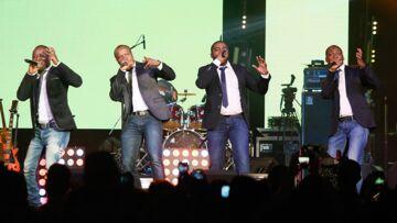 PHOTOS – Le groupe Magic System présent pour la victoire d'Emmanuel Macron, les internautes ironisent