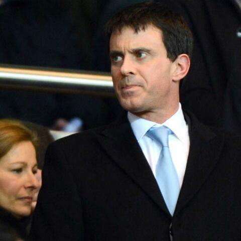 Manuel Valls, Marc Lavoine, Shy'm: supporters du PSG!