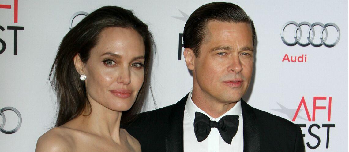 Angelina jolie refuse catégoriquement la garde partagée demandée par Brad Pitt