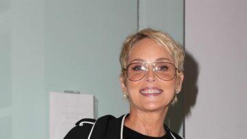 PHOTOS – À bientôt 60 ans, Sharon Stone est bombesque en maillot de bain à la plage