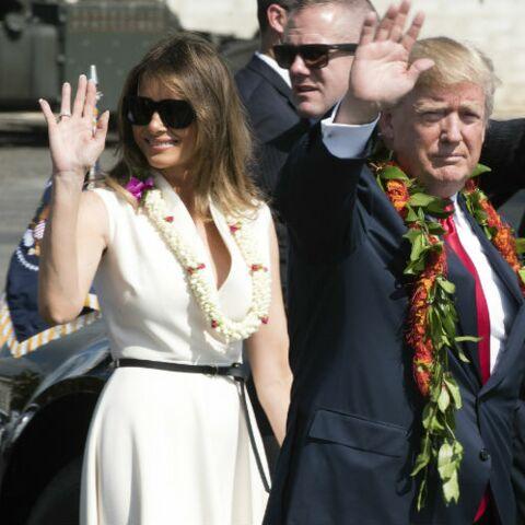 PHOTO – Melania tient-elle la main de Donald Trump? La photo qui intrigue