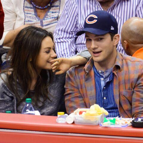 Mila Kunis et Ashton Kutcher gagas de leur petite Wyatt