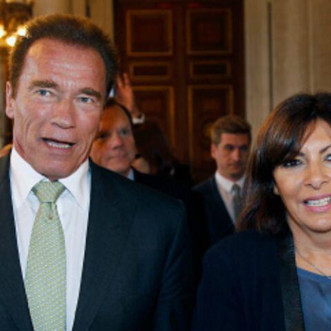 Arnold Schwarzenegger, premier soutien d'Anne Hidalgo