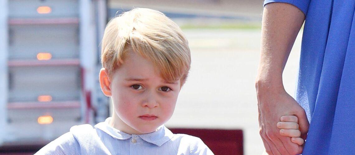 PHOTOS –Les premières images de la rentrée de George, accompagné par le prince William mais sans Kate Middleton
