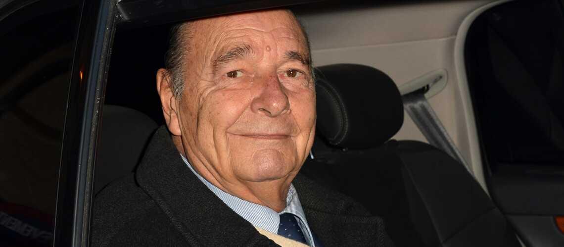 Jacques Chirac, en vacances chez le roi du Maroc