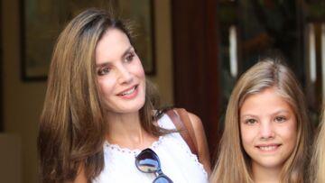 PHOTOS – Les filles de Letizia d'Espagne sont le portrait craché de leur maman