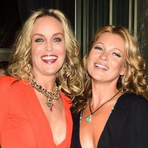 Photos – Kate Moss, Sharon Stone au gala de l'Amfar