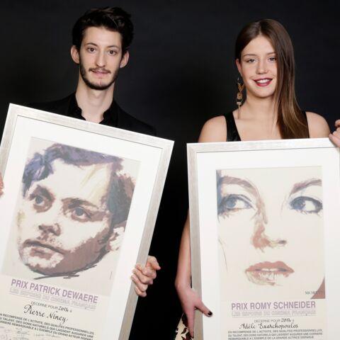 Photos- Adèle Exarchopoulos et Pierre Niney prix Romy Schneider et Patrick Dewaere