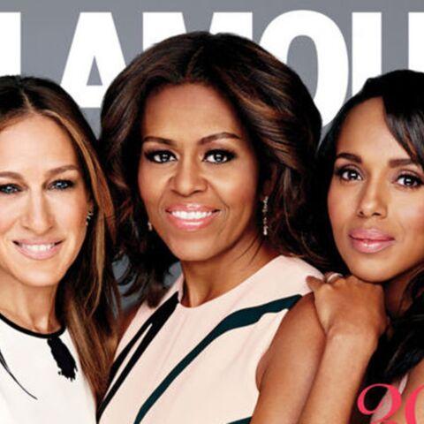 Michelle Obama, Kerry Washington et Sarah Jessica Parker célèbrent Glamour