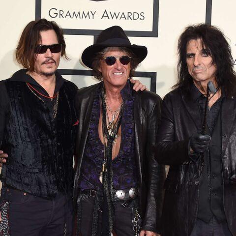 Alice Cooper, Johnny Depp, Joe Perry: les papas du rock réunis sur scène