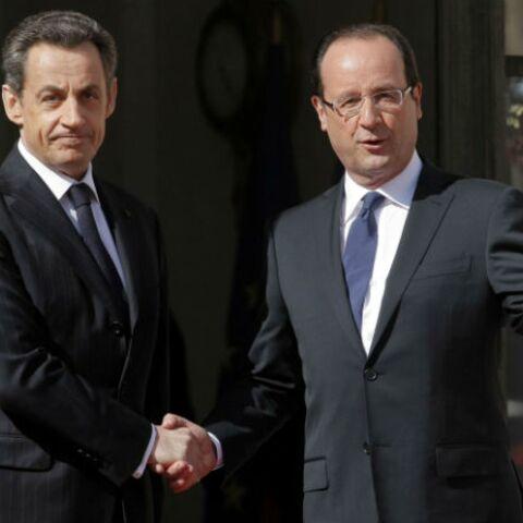François Hollande et Nicolas Sarkzoy, les présidences se suivent…