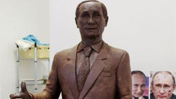 Vladimir Poutine: Et maintenant, une statue en chocolat