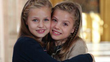 PHOTOS – goûter sous les cadeaux pour les filles de Letizia et Felipe d'Espagne