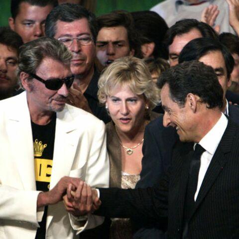 Photos- Les amitiés politiques de Johnny Hallyday