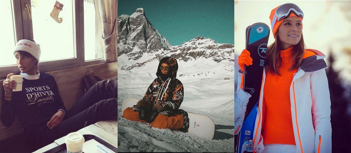 PHOTOS – Ski   Sonia Rolland, Shy m, Laury Thilleman… Les looks des stars  sur les pistes - Gala ed36b4b4110