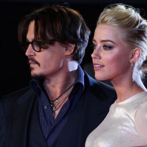 Johnny Depp et Amber Heard, en tête à tête à Paris