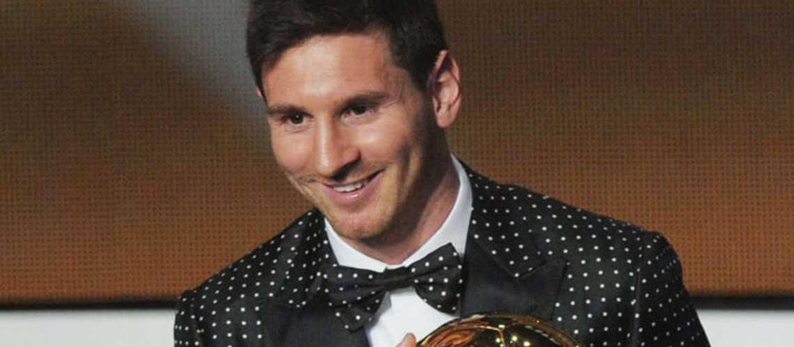 Lionel Messi, roi du foot mais pas de la mode