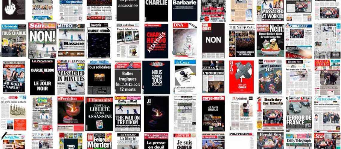 Charlie Hebdo: la presse en deuil et révoltée