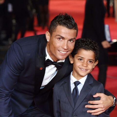 Cristiano Ronaldo ne lâche rien, même face à son fils