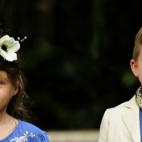 Bonpoint, défilé d'enfants chics et bucoliques