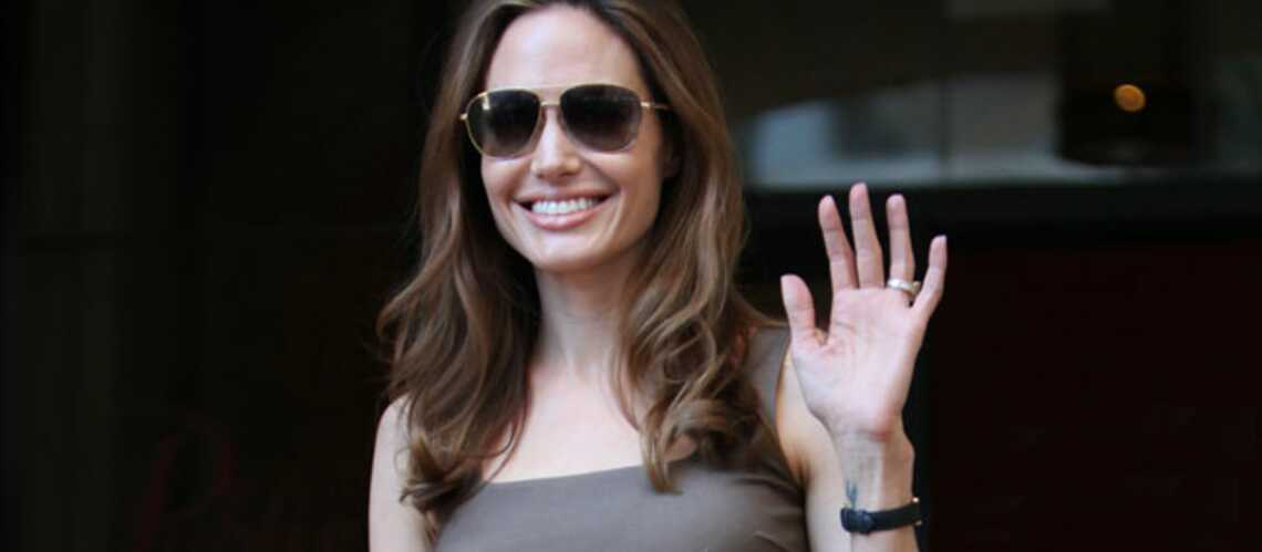 Vidéo-Angelina Jolie, plus que jamais avec les réfugiés