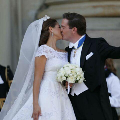 Photos: Madeleine de Suède et Chris O'Neill, heureux mariés