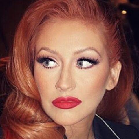 Christina Aguilera est méconnaissable
