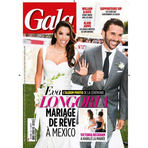 A la une: Dans les coulisses du mariage d'Eva Longoria