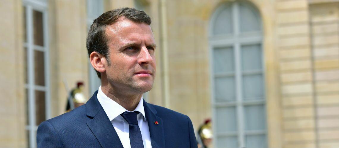 Emmanuel Macron surnommé Choupinet 1er par ses amis à Gauche