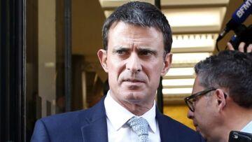 PHOTOS – La grimace de Manuel Valls en voyant Emmanuel Macron amuse twitter