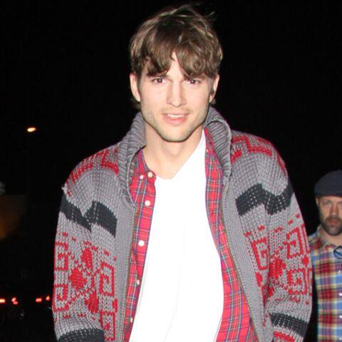 Ashton Kutcher, au premier rang du concert de Rumer Willis