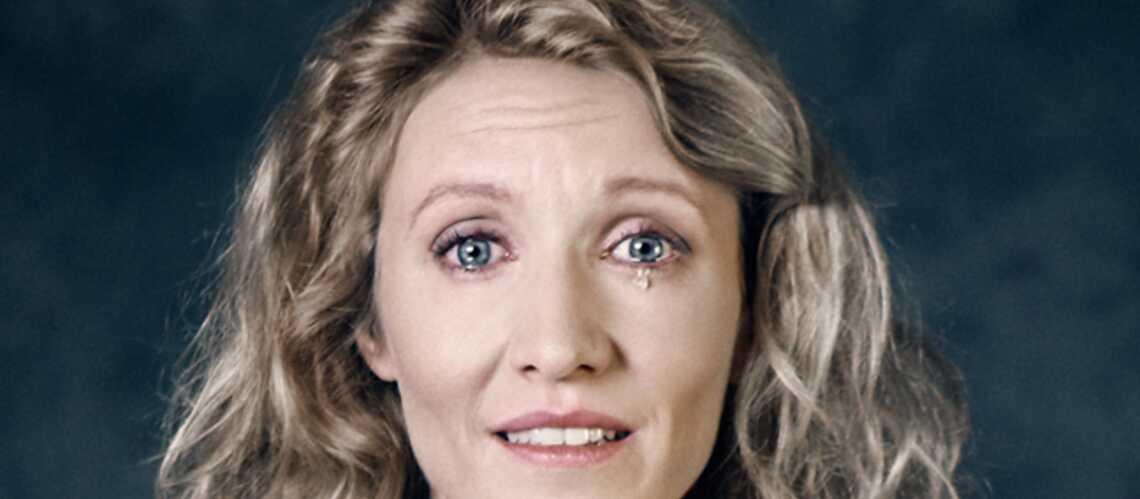 Alexandra Lamy, dans les yeux d'une femme battue