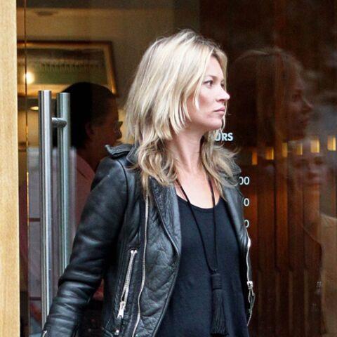 Dans le dressing de Kate Moss