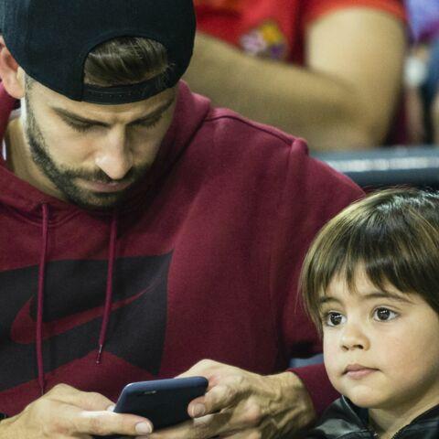 PHOTOS – Gerard Piqué: premier match de basket avec son fils Milan, sans Shakira