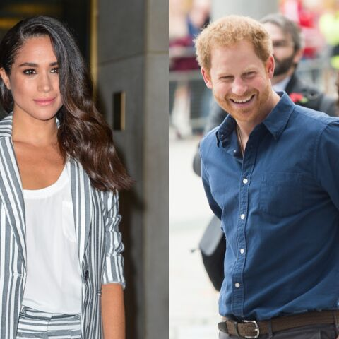 PHOTOS – Meghan Markle met son chien à la mode british