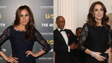 PHOTOS – Meghan Markle face à Kate Middleton, qui porte le mieux la robe Diane Von Furstenberg?