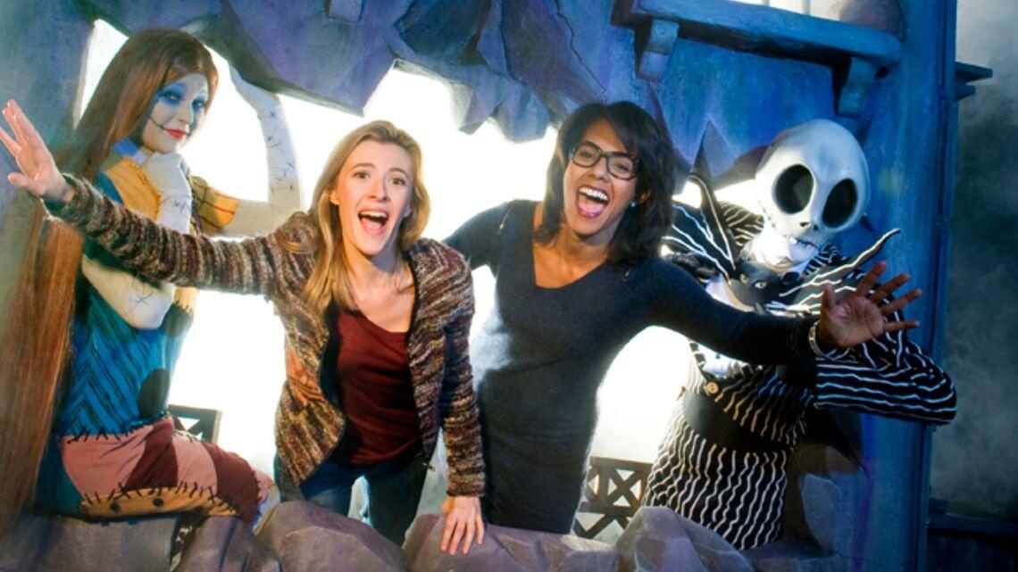 Vidéo- Audrey Pulvar et M Pokora fêtent Halloween à Disneyland
