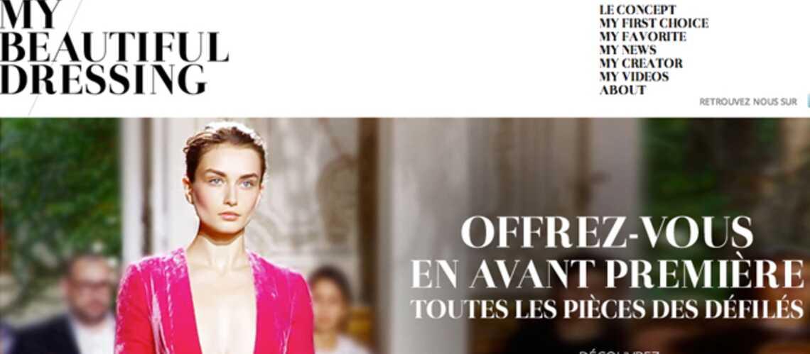 My Beautiful Dressing, le site des fashionistas