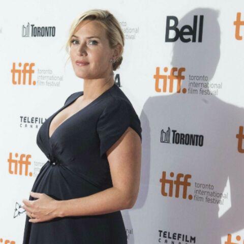 Photos- Kate Winslet enceinte et glamour à Toronto