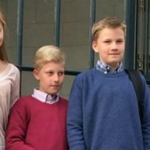 Photos – Emmanuel de Belgique: le petit prince en pleurs le jour de la rentrée