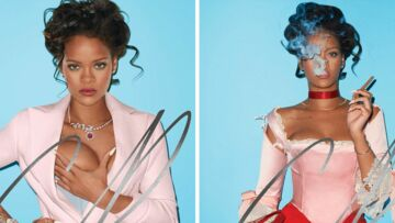 Rihanna, Marie-Antoinette au sein nu