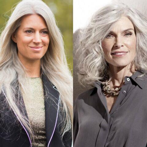 Coupe cheveux blancs epais