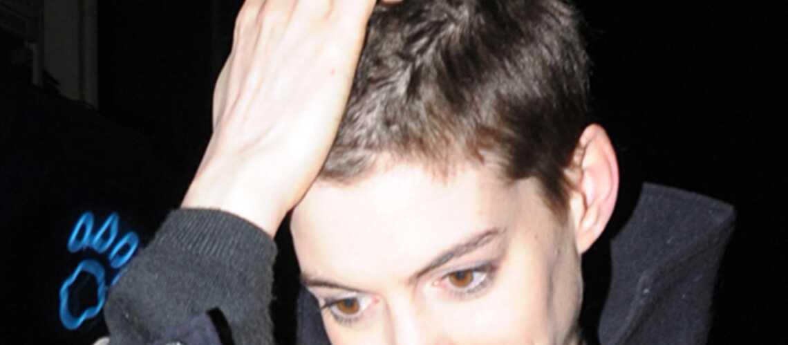 Anne Hathaway métamorphosée pour Les Misérables