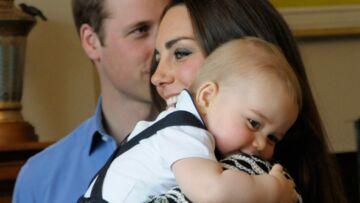 Photos- Le prince George rayonne a Wellington