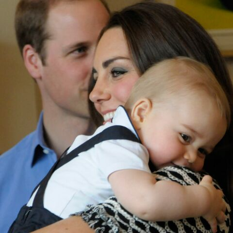 Photos- Le prince George rayonne a Wellington