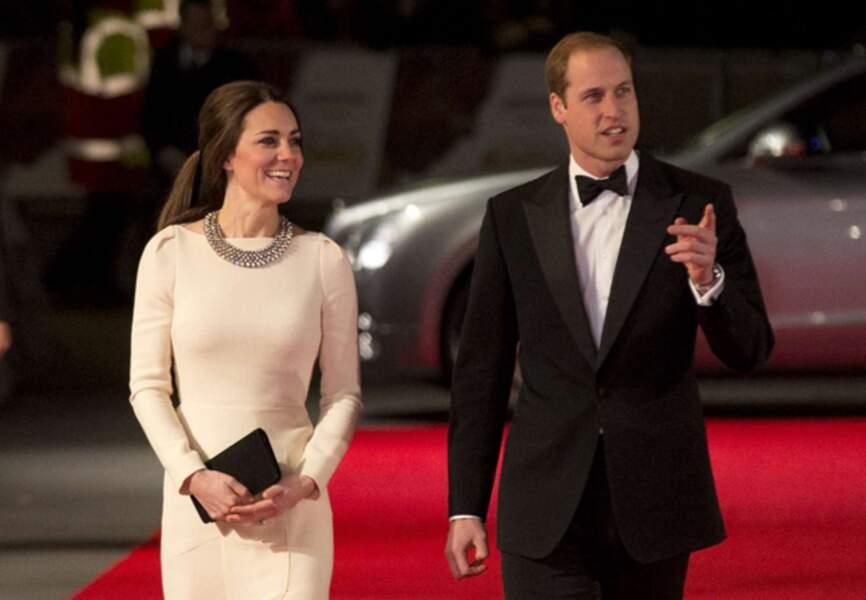 Arrivée remarquée pour Kate et William